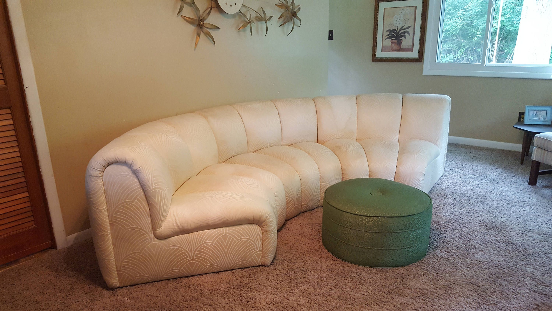 Fine Vintage Mid Century Modern Bernhardt Sofa Sectional Milo Home Remodeling Inspirations Basidirectenergyitoicom
