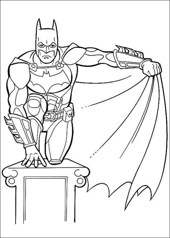 Pin de Coloring Fun en Batman & Friends | Pinterest