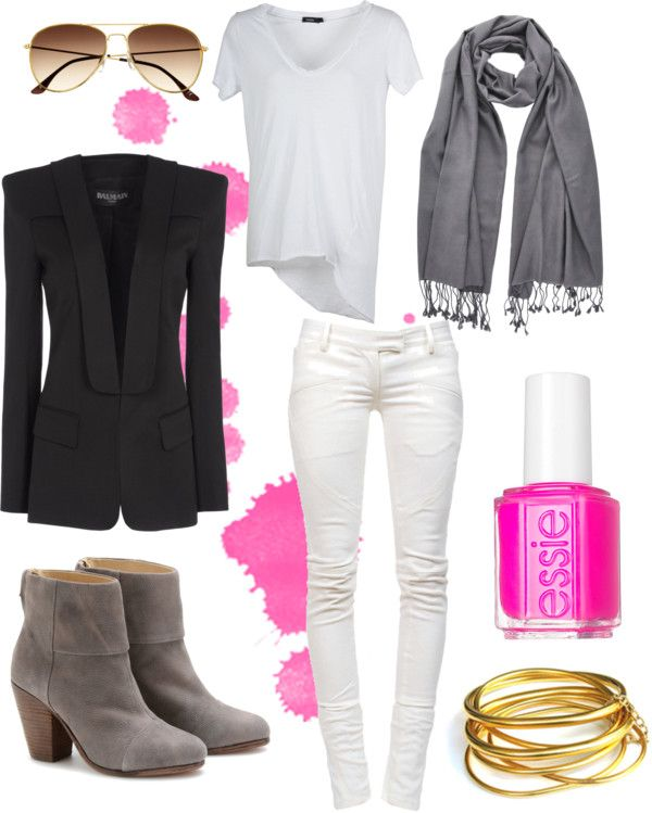 Splash of Pink, created by lucywilby on Polyvore