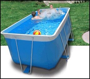 2 000 Ez Lap Pool Deluxe Package Or 1 400 For The Pool Alone Pool Is 7ft X 12ft X 52 Deluxe Package Includes The Pool The 3 Portable Pools Pool Lap Pool