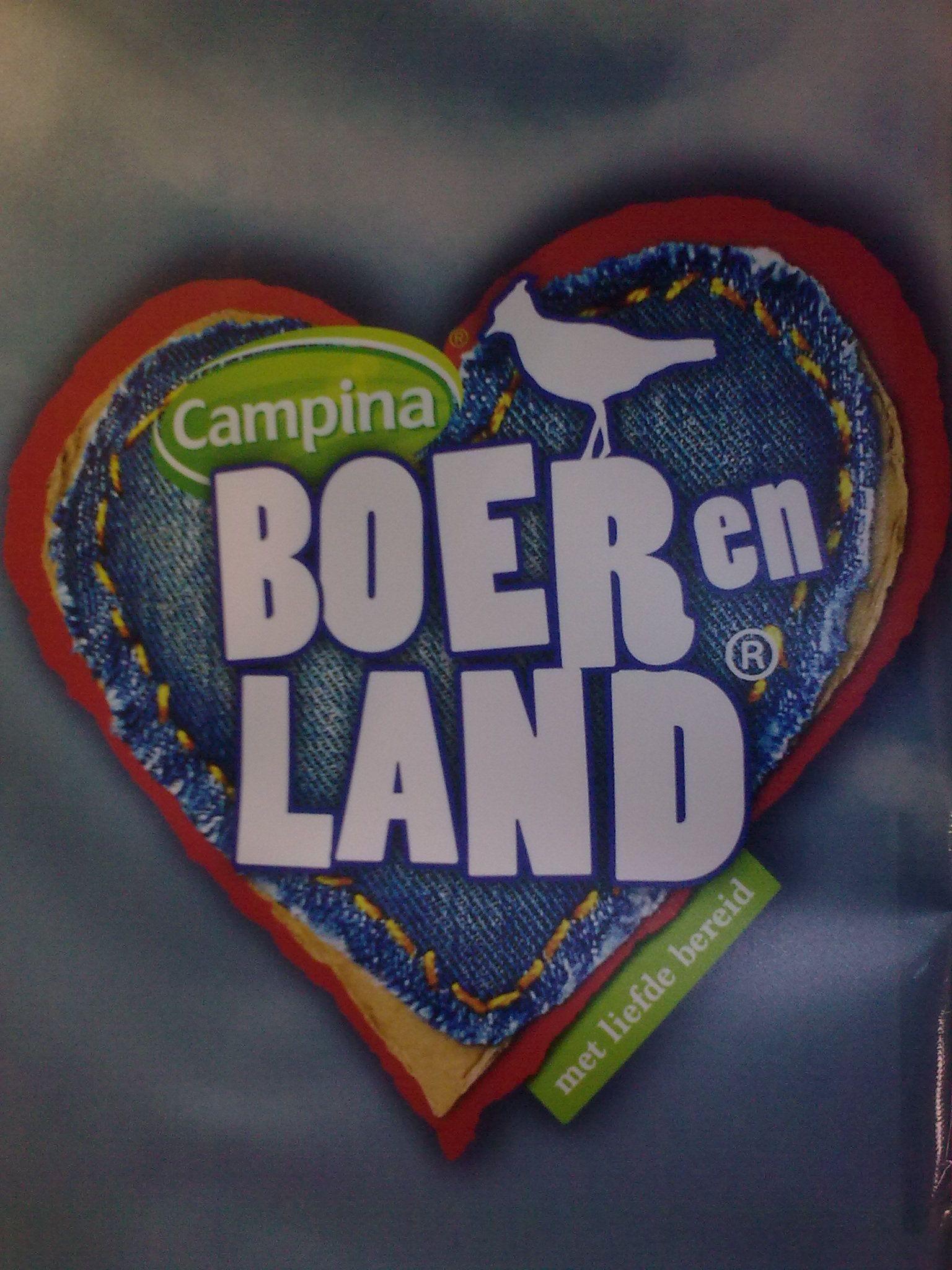 Ook FrieslandCampina zet z'n beste zuivelbeentje voor op de Biovak.....BOERenLAND!
