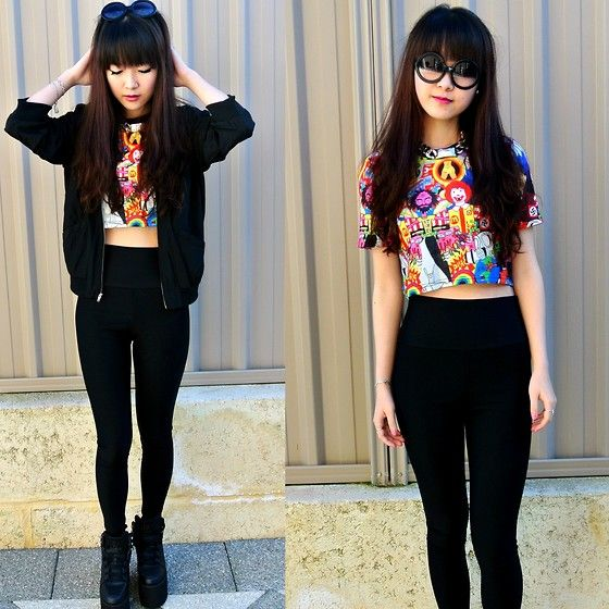 High Waisted Jeans And Crop Top Tumblr High Waisted Jeans Wit...
