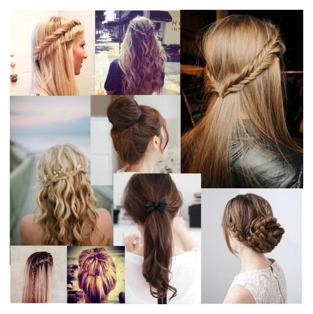 """""""Hairstyle"""" by sarahmaryam-alba-d ❤ liked on Polyvore"""