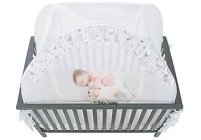 Baby Crib Tent Safety Net Canopy Cover Netting Pop Up Infant Nursery Furniture  sc 1 st  Pinterest & Baby Crib Tent Safety Net Canopy Cover Netting Pop Up Infant Nursery ...