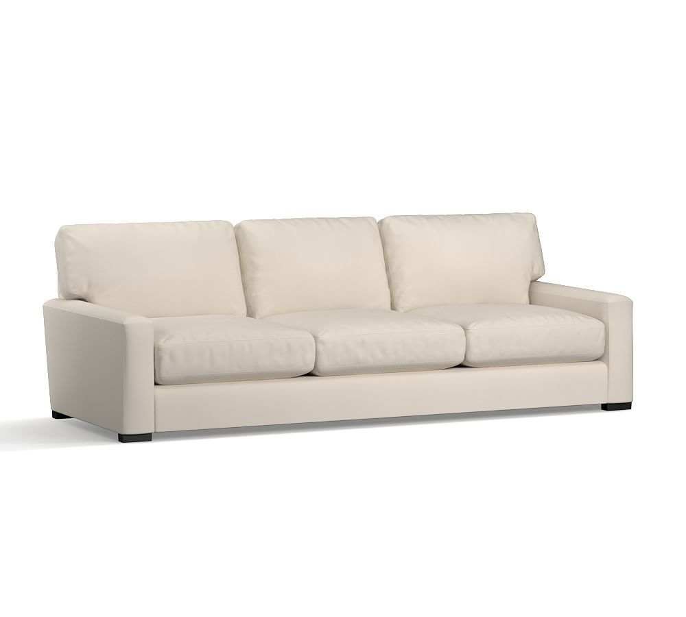 turner square arm upholstered grand sofa 105 without nailheads rh pinterest com