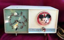 Radios General Electric Disney Mickey Mouse Disney Am Clock Radio Disney Clock Vintage Disney Vintage Disneyland Merchandise