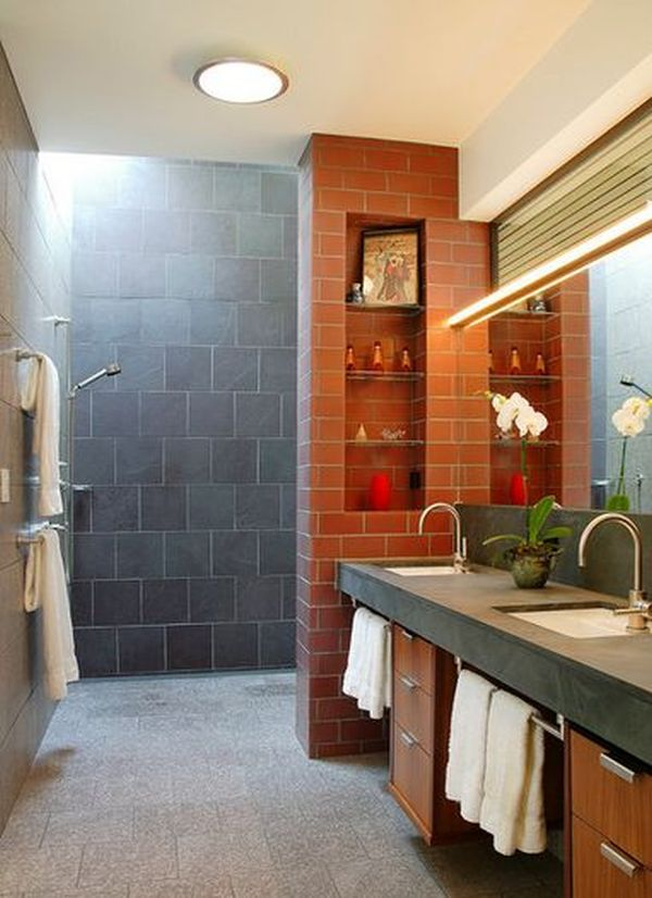 Doorless Shower Designs Teach You How To Go With The Flow ...