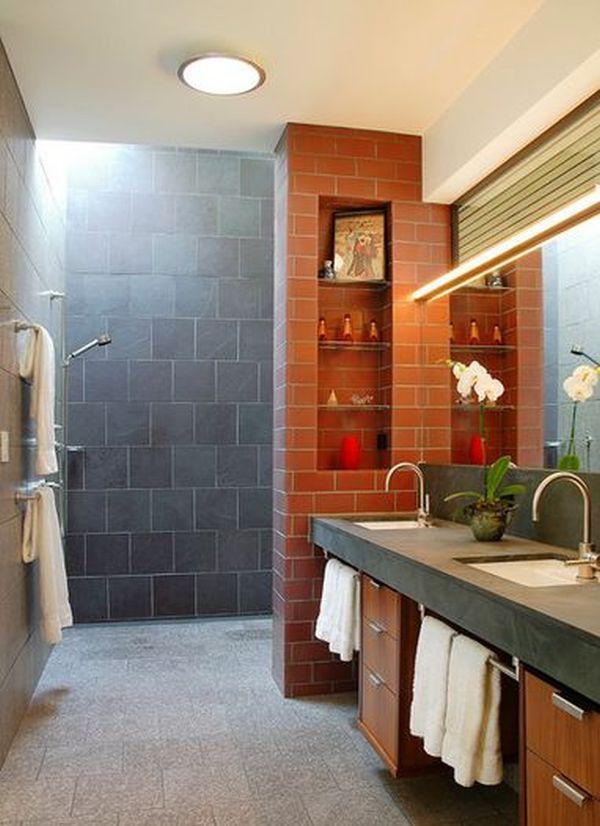 Doorless Shower Designs Teach You How To Go With The Flow Doorless Shower Design Showers Without Doors Doorless Shower