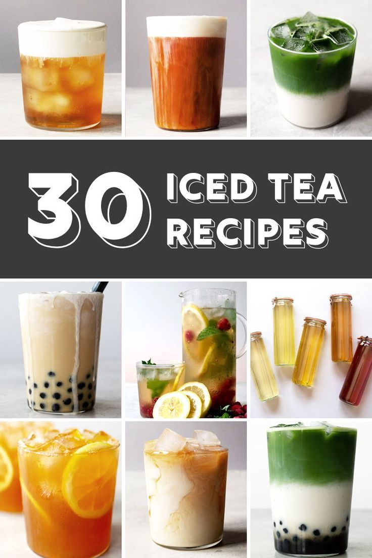 Photo of 30 Refreshing Iced Tea Recipes