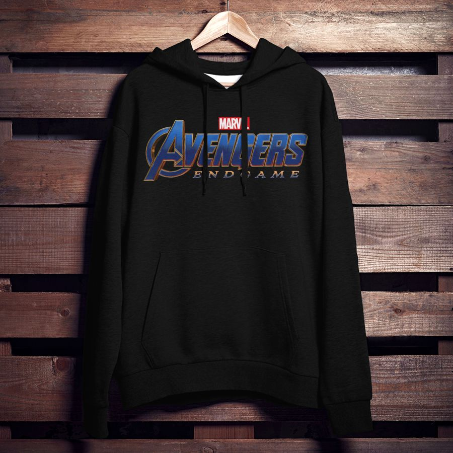 dda167a7 Part of the journey is the end so be sure to have the Marvel Avengers:  Endgame Classic Logo Men's Lightweight Hoodie when you get there!