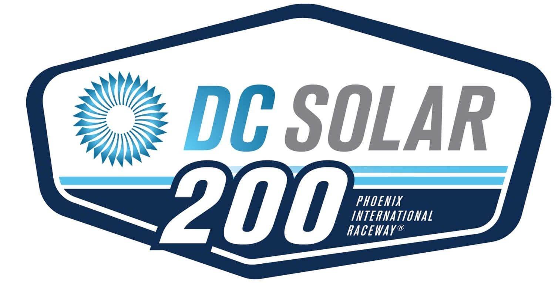 The Nascar Xfinity Series Dc Solar 200 From Ism Raceway In Phoenix Phoenix International Raceway Solar Logo Solar