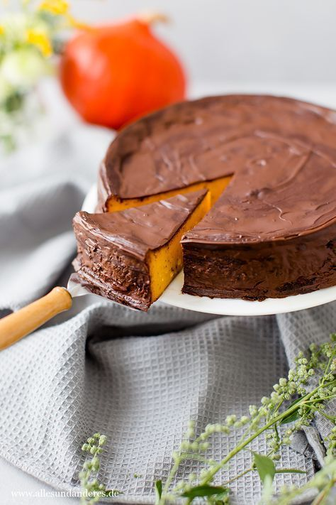 Juicy pumpkin pie with chocolate -  Juicy Pumpkin Pie with Chocolate Everything and other  -