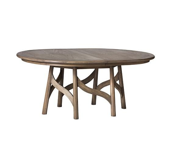 Delightful Bailley Oval Extension Dining Table | Thomas Lavin