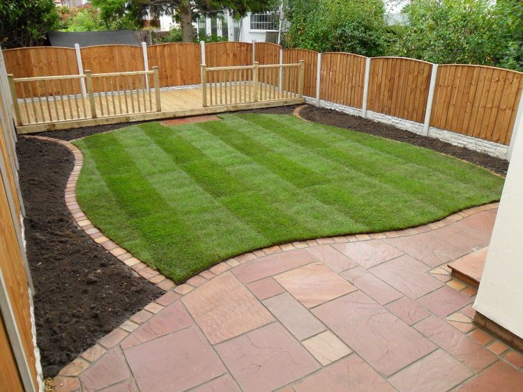 Garden Ideas Decking And Paving square laid paving with curved edge @colin young young young