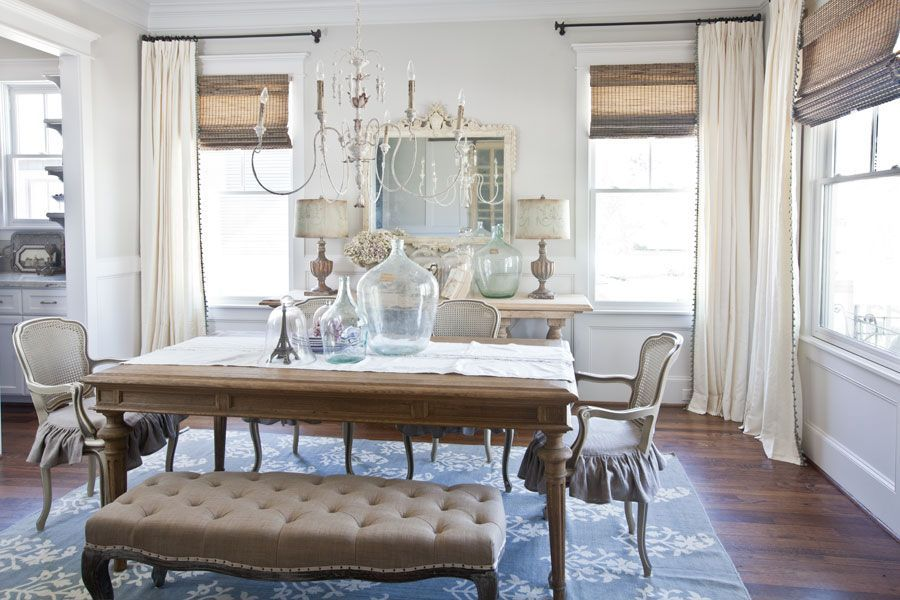 Pin By Living Room Curtains On Woven Wood Inspiration In 2020 Dining Room Curtains Farm House Living Room Curtains Living Room