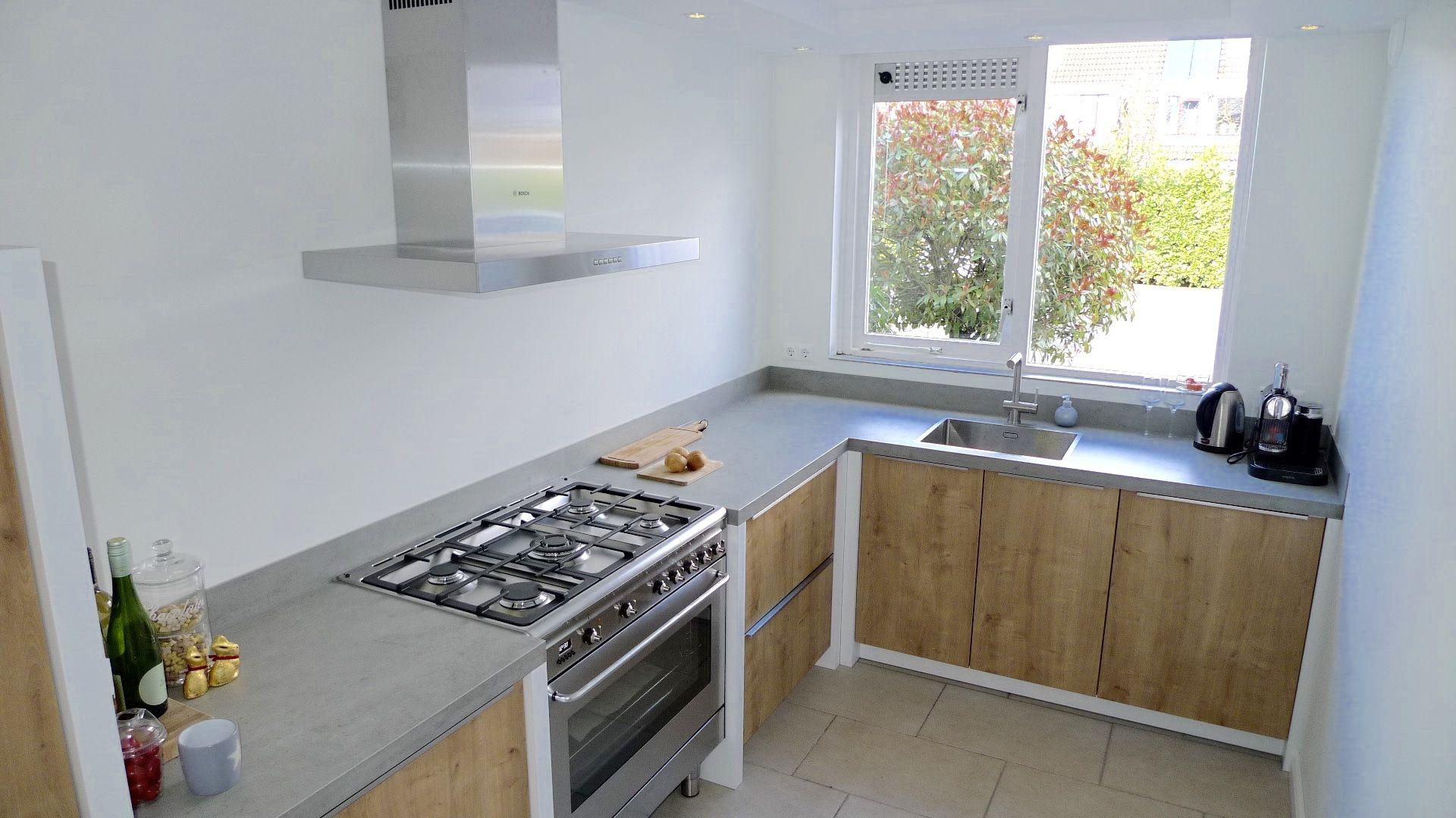 Houten Keuken Beton : Betonnen werkblad keuken