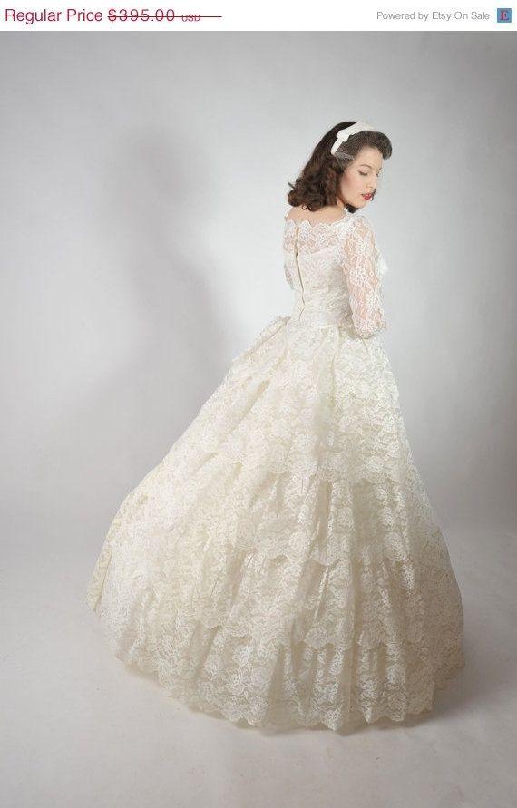 Vintage Wedding Dresses For Sale | 48-Hour Sale - Vintage 1950s ...