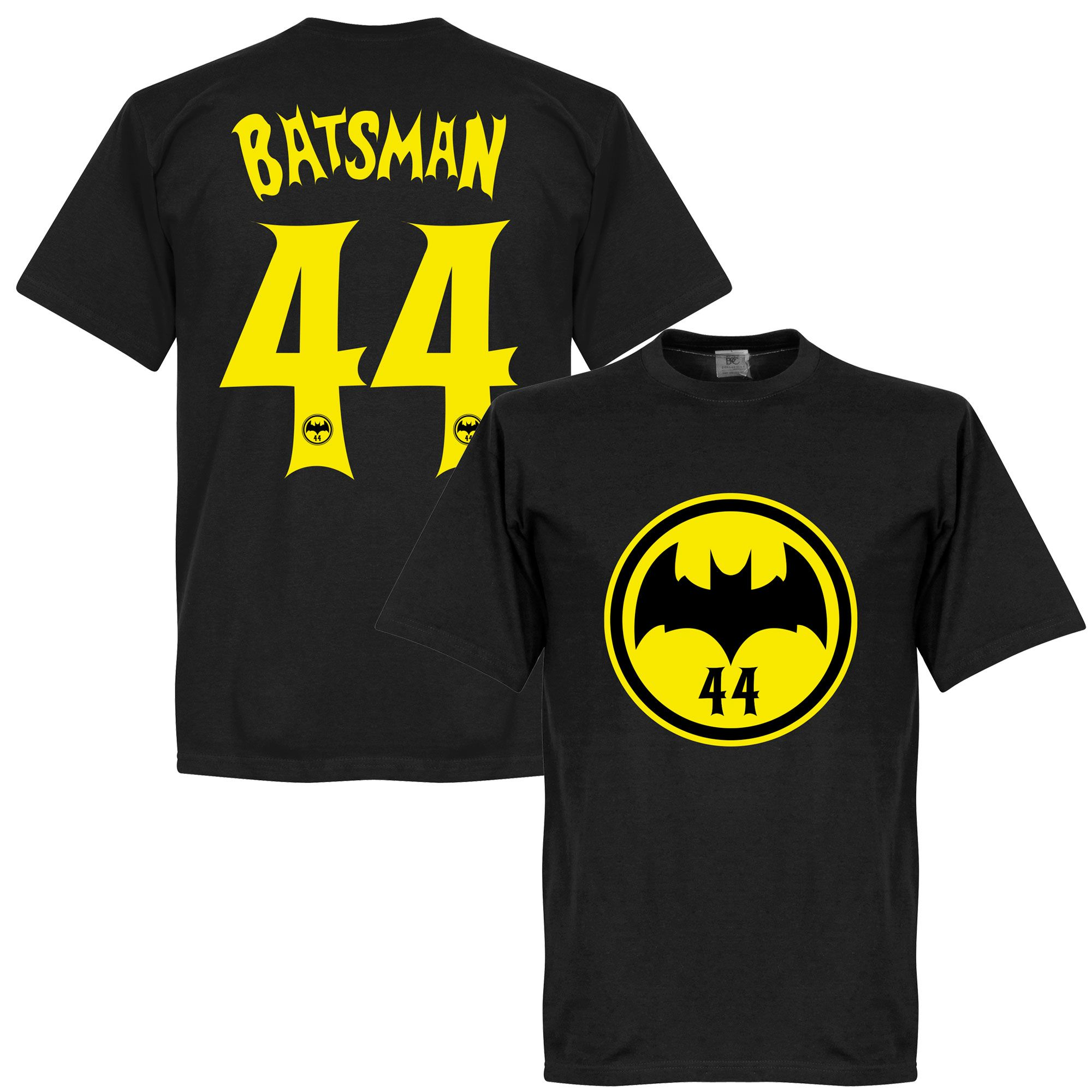 Batsman 44 TShirt Black (With images) Black shirt