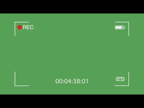 Descargar Efecto De Camara Rec Youtube First Youtube Video Ideas Greenscreen Video Design Youtube