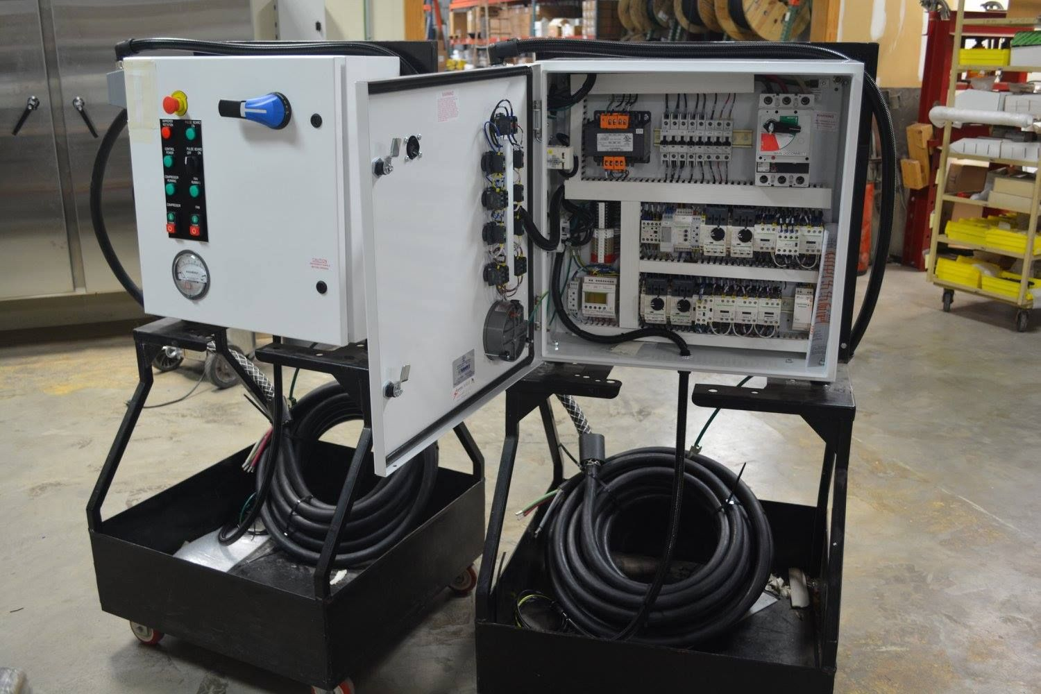 Osco Completes 2 Electrical Control Panels Ready To Ship