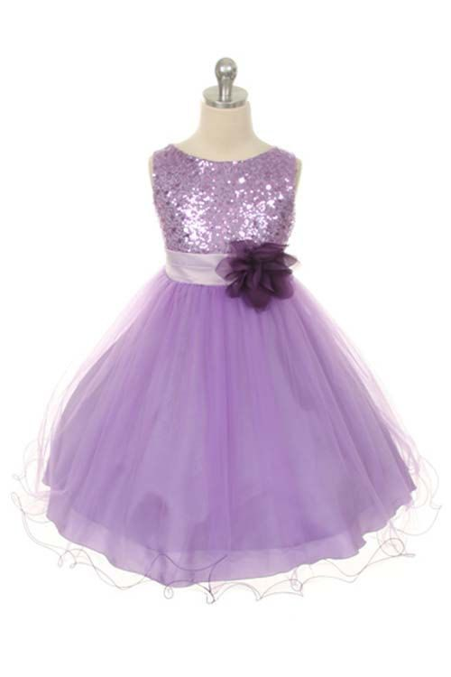 865a3a737daa Flower Girl Dress Lilac Purple, Red, Silver, Gold, Fuchsia, Sequin Double Mesh  Flower Girl Toddler Special Occasion Wedding Dress on Etsy, $39.84
