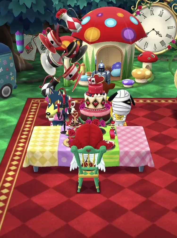 16++ Tea table animal crossing images
