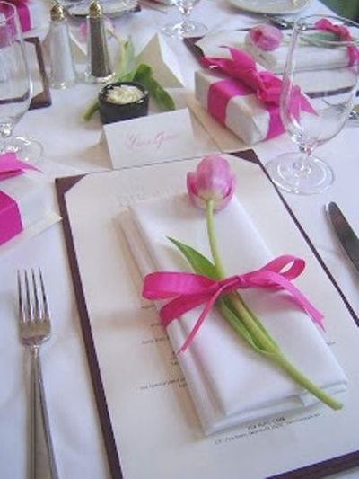 bridal shower favors presented as part of the tablescape see more bridal shower favor ideas
