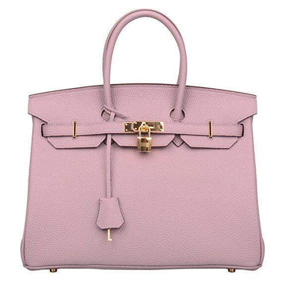 119 Lavender Pink Hermes Birkin Bag Dupe Deisgner Bag