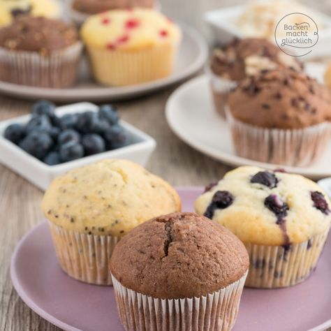 Grundrezept Fur Muffins Rezept Dessert Pinterest Backen