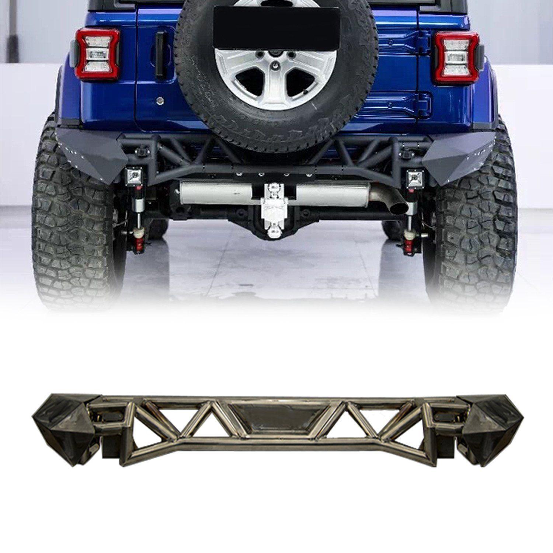 Pre Order Fragmentation Rear Bumper For 18 19 Jeep Wrangler Jl Jeep Bumpers Jeep Wrangler Bumpers Jeep Wrangler Accessories