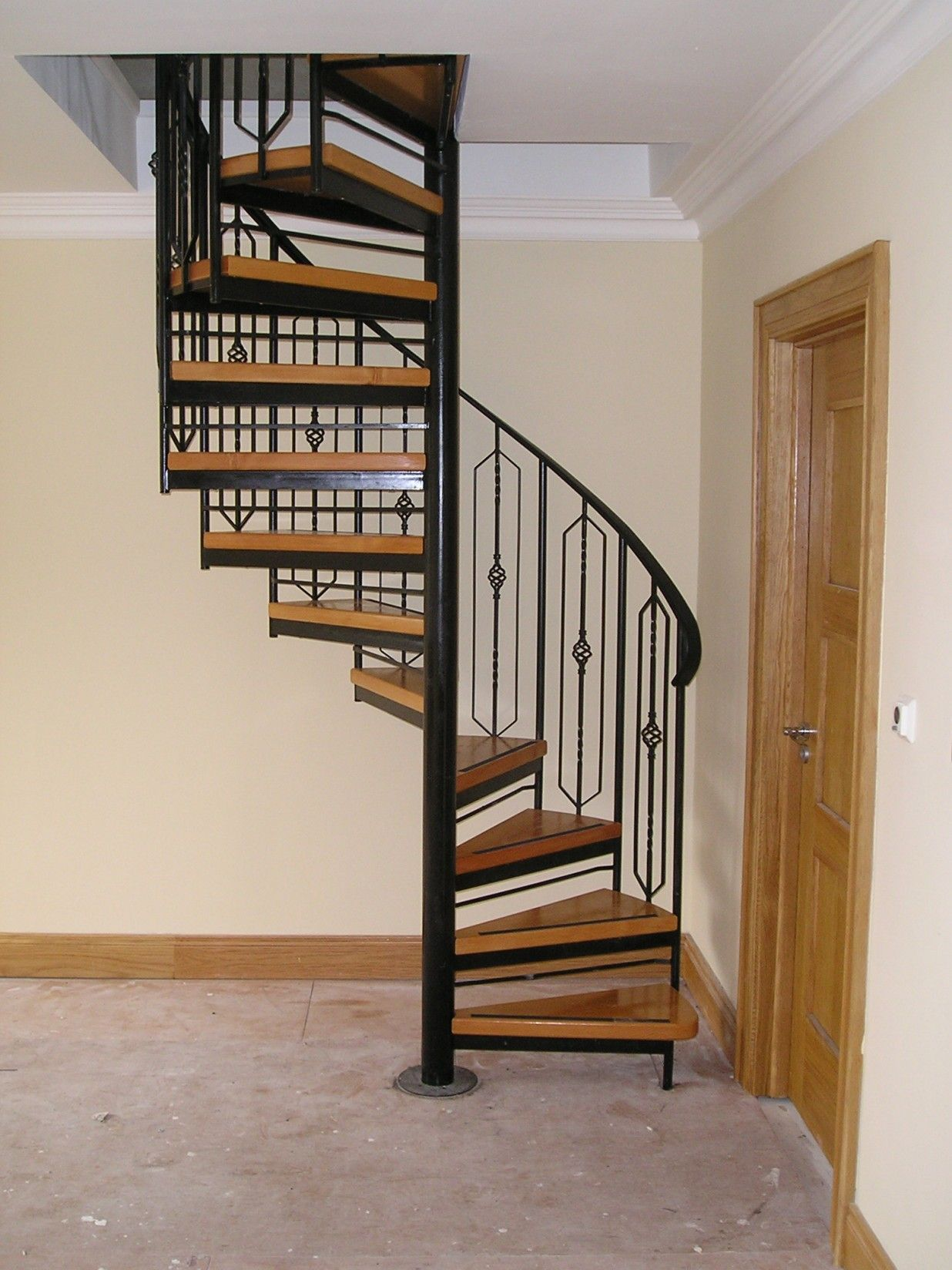 Spiral Staircase To Basement Top View Google Search