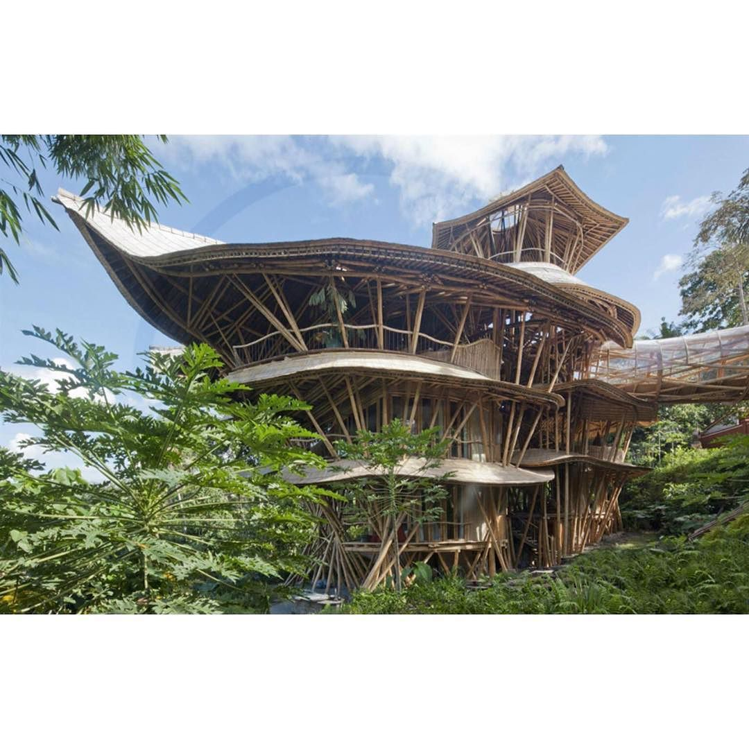 Estrutura de bambus. Sharma Springs - Projeto IBUKU - Bali - Indonesia #adstudio #adstudioarquiteturaedecoracao #arquitetura #interiores #decor #decoracao #architecture #design #amor #beautiful #cute #colorful #decor #design #delicate #decoração #decorating #home #homedecor #homedecorating #instagood #instalove #inspiração #instadecor #inspiration #instadecorating #love #ideias #archilovers #interiordesign #workhard #arquiteturacontemporânea Fonte: acervo de imagens by adstudioarquitetura