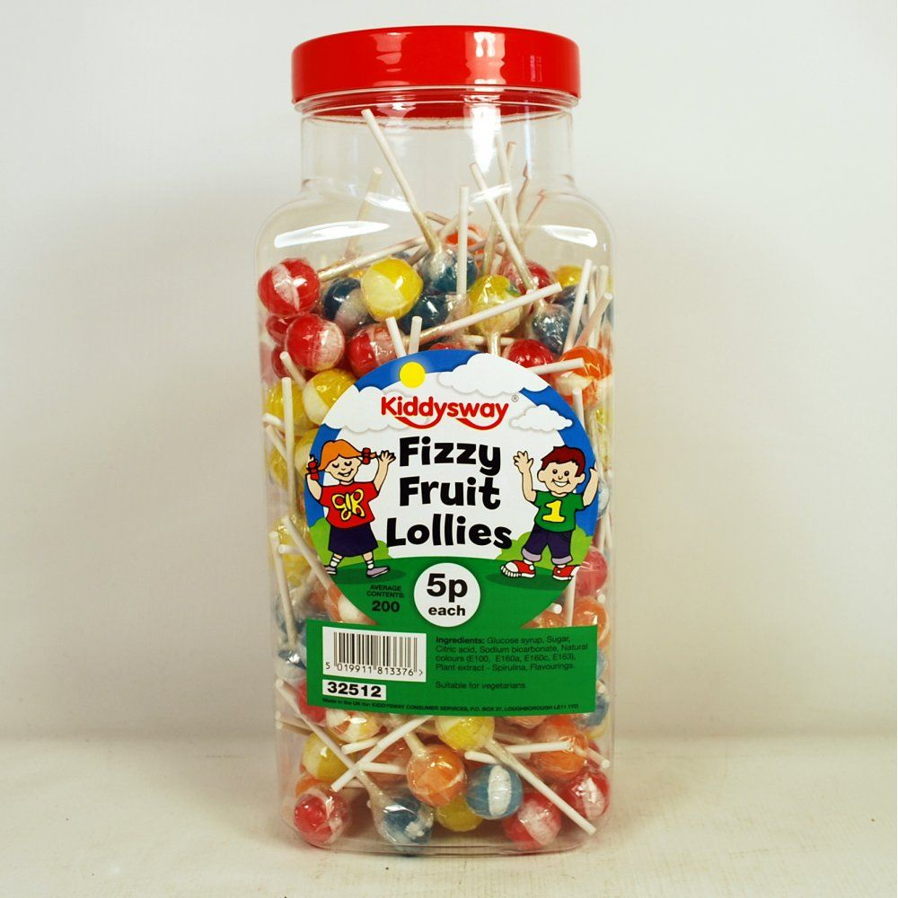Kiddysway fizzy fruit lollies pk guide fundraising
