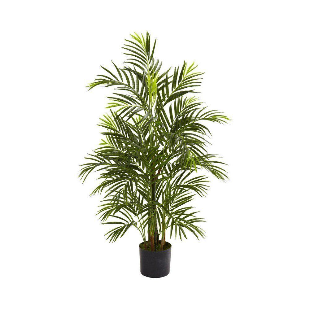 Fake areca palm uv resistant indooroutdoor feet tall