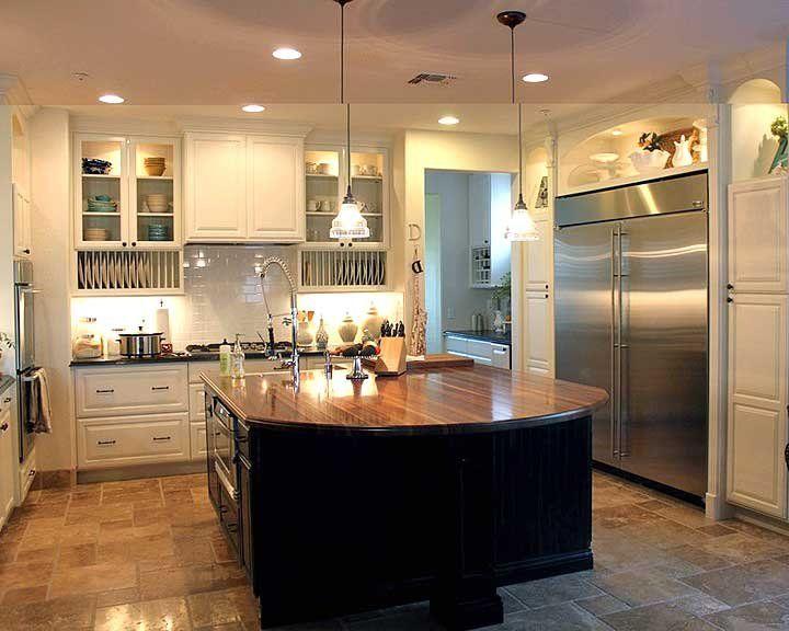 Kitchen Island Design Photos Butcher blocks, Kitchen islands and