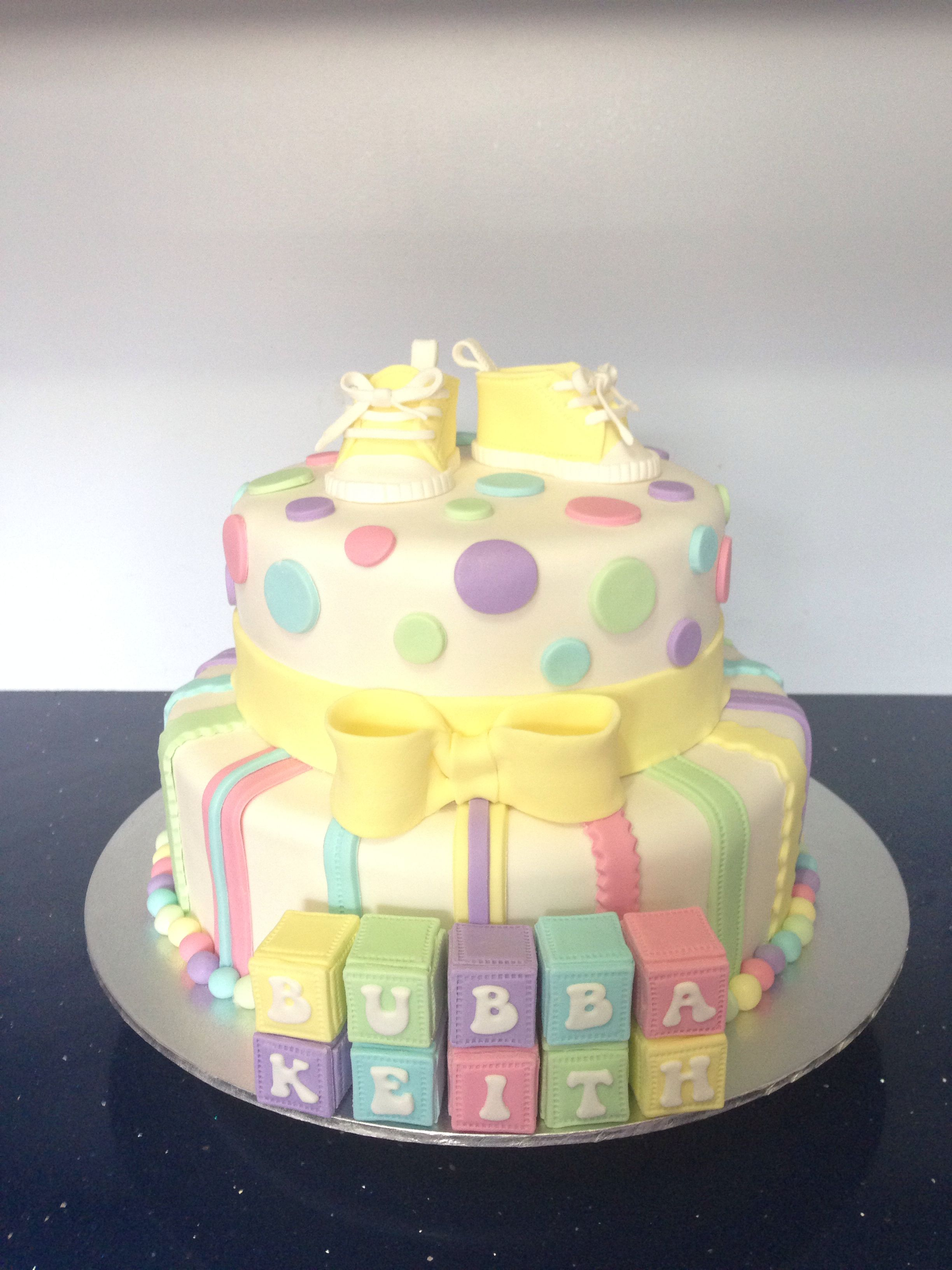Baby shower cake ideas for unknown gender