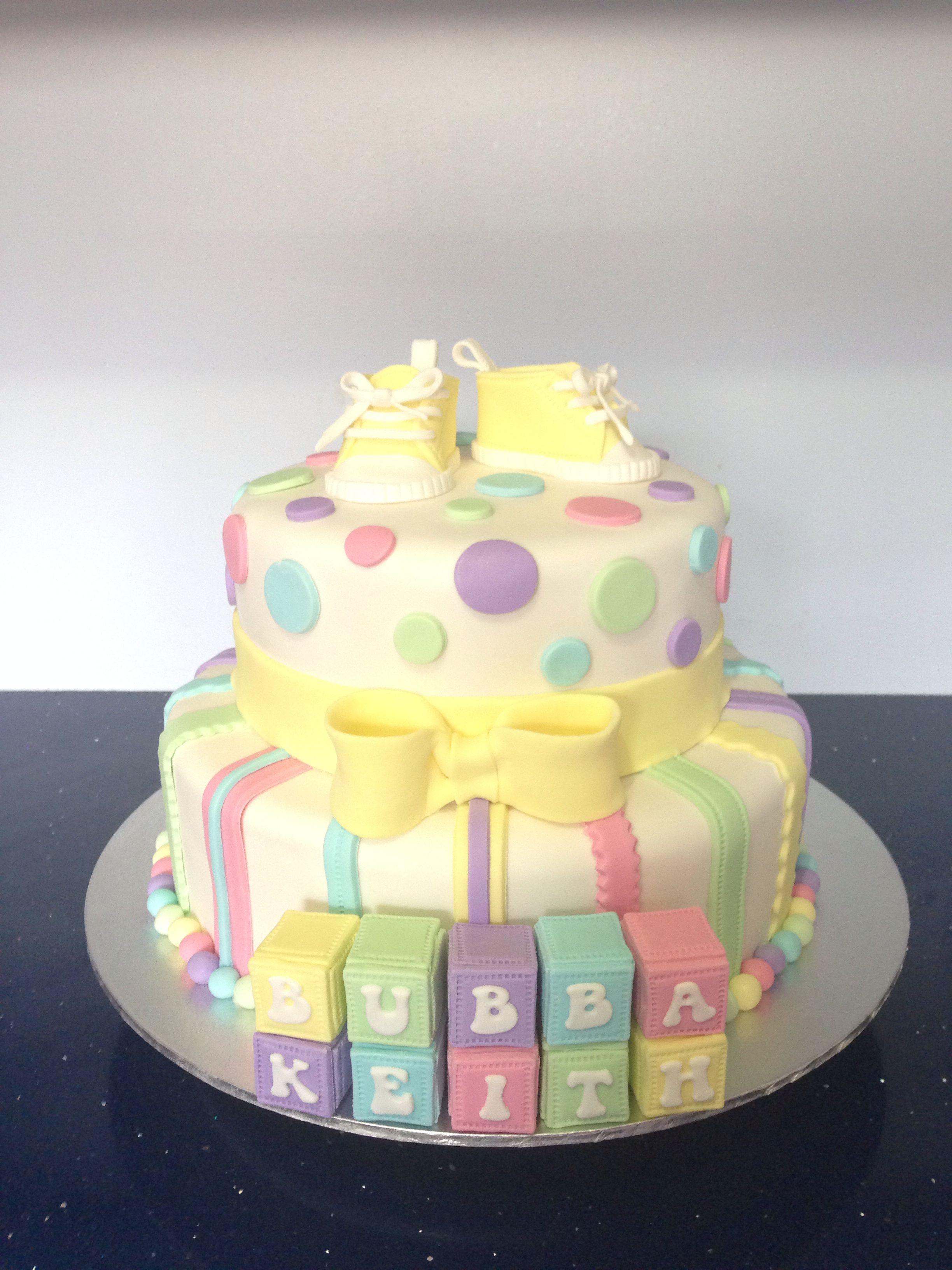 Baby Shower Cake Babyshowercake Unisex Cake Cake Decorating In