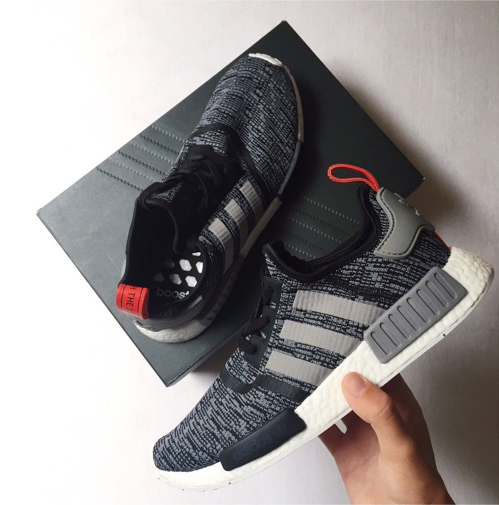 4eecc68010ad6 adidas Originals NMD in grau-schwarz grey-black    Foto s richter1 ( Instagram