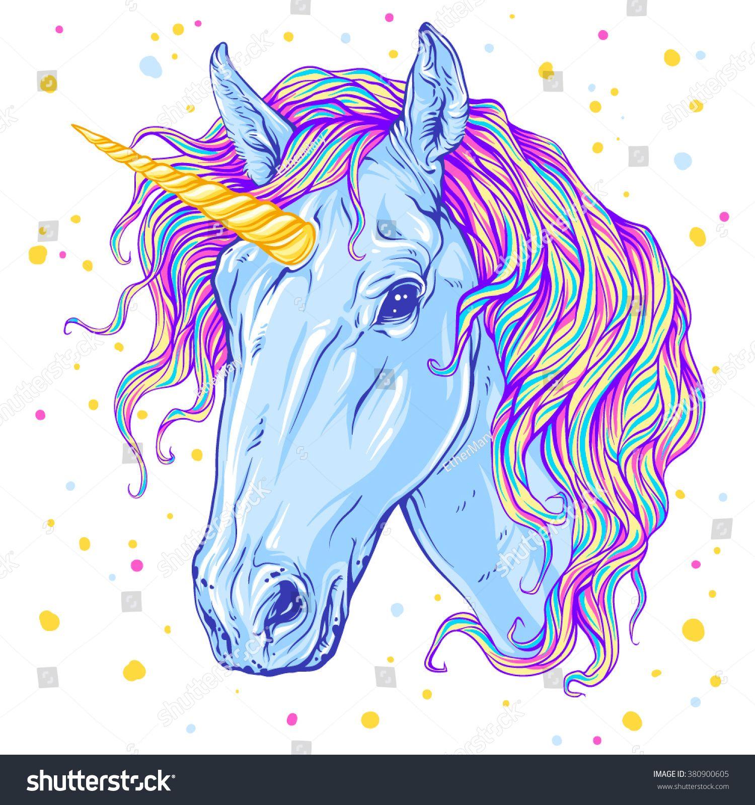 Unicorn. Vector illustration Ad , AD, UnicornVector