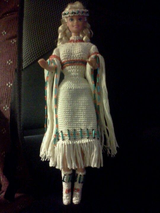Crochet Toys Barbie Clothes