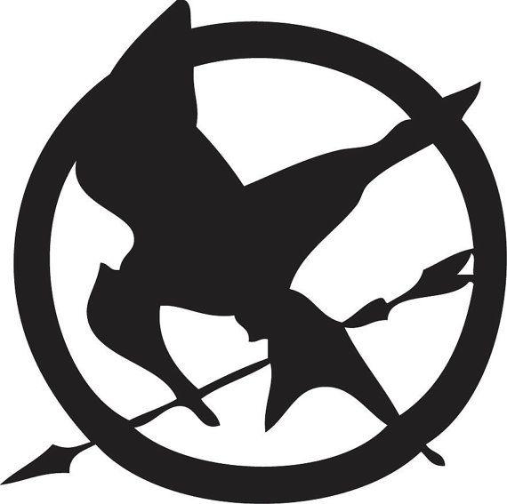 Hunger Games Symbol Vinyl Decal Sticker By Remarkable Walls On Etsy 12 00 Hunger Games Symbol Hunger Games Logo Hunger Games