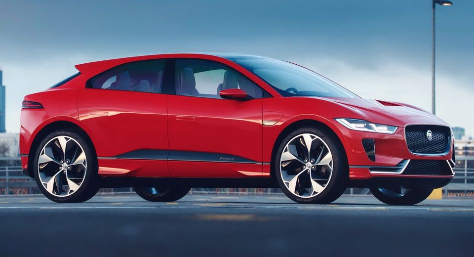 Jaguar S Tesla Model X Rivalling I Pace Electric Crossover Concept