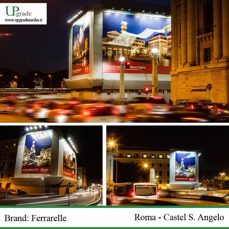 Brand Ferrarelle Roma Castel S.Angelo ferrarelle