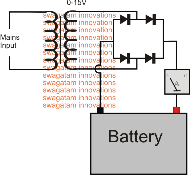 Pin on Battery Charger | Battery Charger Rectifier Wiring Diagram |  | Pinterest