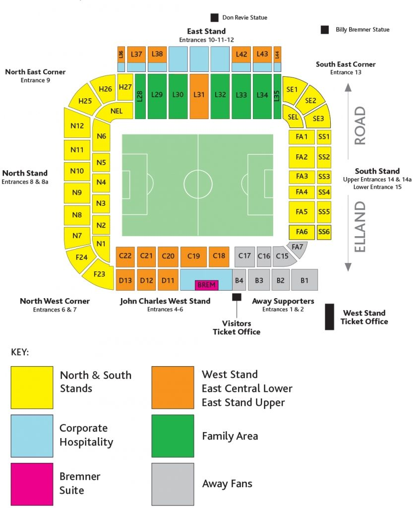 Leeds United In 2020 How To Plan Seating Plan Trip Advisor
