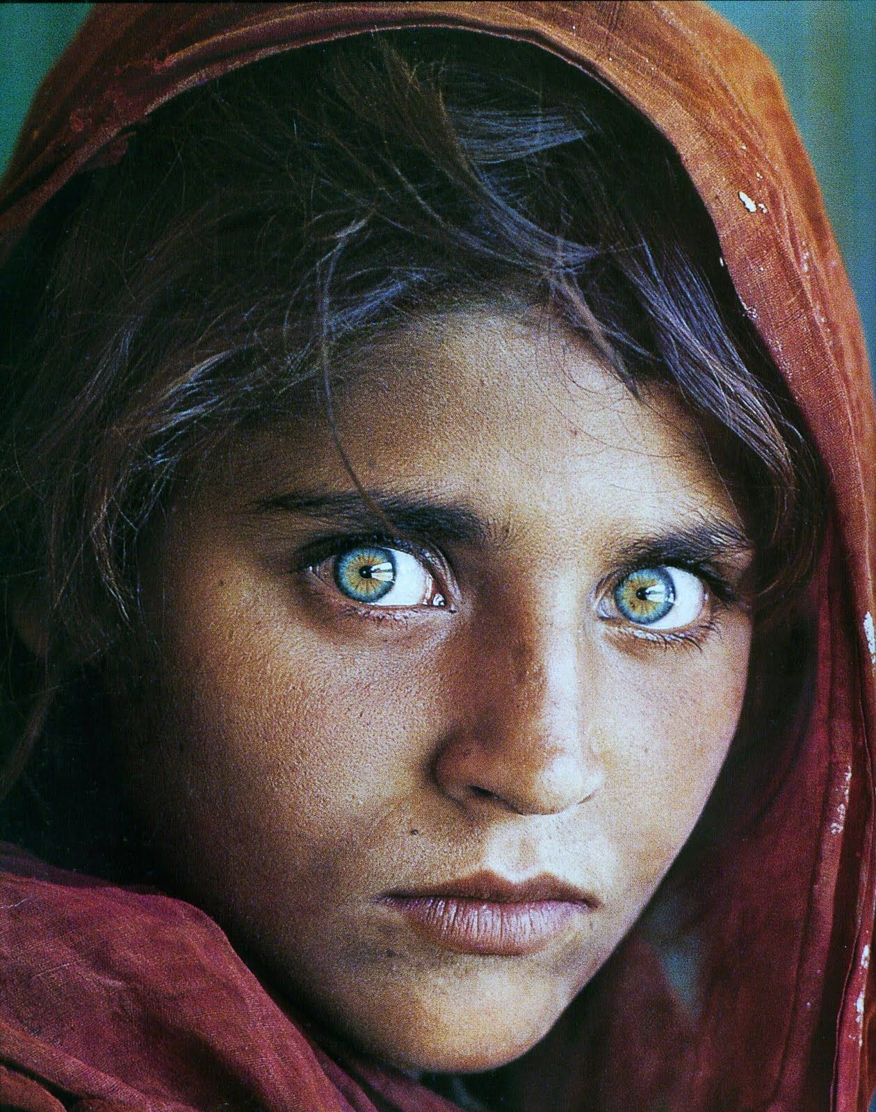 National Geographic Afghan Girl Famous Photos Most Beautiful Eyes