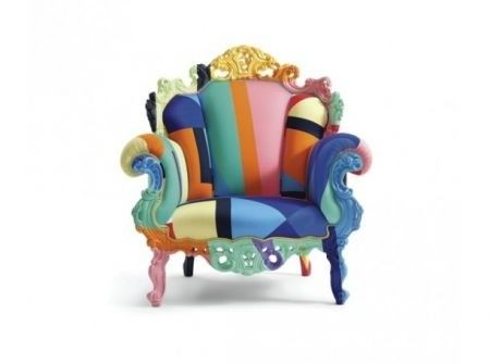 Proust armchair by alessandro mendini mobili funky for Mobili colorati design