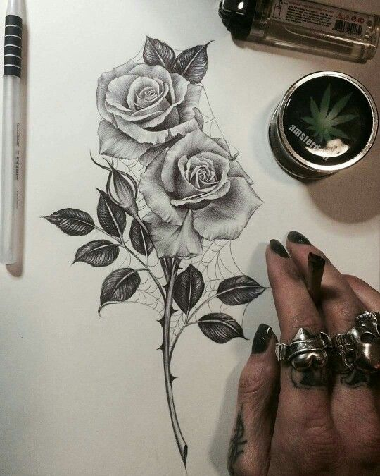 Pinterest Nataliepitcherr Tatouage Rose Tatouage