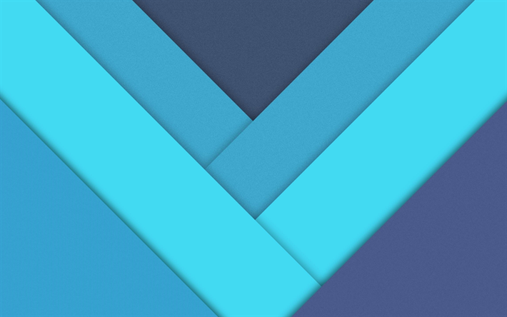 Download Wallpapers Lines Material Design 4k Geometry Strips Arrows Blue Background Creative Besthqwallpapers Com Material Design Material Design Background Wallpaper Powerpoint