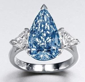 5 16ct Rare Blue Diamond Expected To Fetch 5 8million Big Diamond Wedding Rings Blue Diamond Ring Favorite Engagement Rings